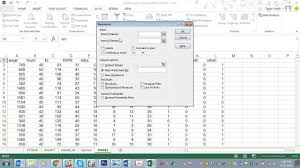 Regression Chart Excel 2013 Running A Regression In Microsoft Excel 2013