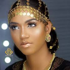 a yoruba bride couldn t be more beautiful than this the makeup highlighted all the beauty that lies in her