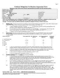 florida wind mitigation inspection form fillable online fl wind mitigation report pdf fax email print