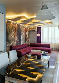 Living Room Ceiling Design Pop False Ceiling Design Living Room With Creative Lighting System