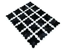 precious black and white cowhide rug or 18 black and white geometric cowhide rug