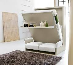 Murphy Wall Beds Sofa With White