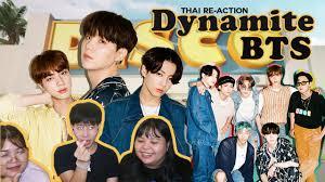 THAI REACTION] BTS - Dynamite / มาหวีดผู้ชาย - YouTube
