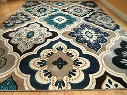 brown and blue area rugs new modern gray rug casual architecture luxury idea tan grey