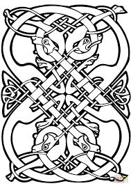 Printable Celtic Designs Coloring Pages Celtic Design Coloring Page Free Printable Coloring Pages