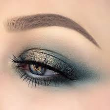 follow the glam magazine s tips on how to apply makeup for blue eyes