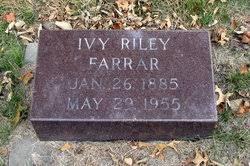 Ivy W. Riley Farrar (1885-1955) - Find A Grave Memorial