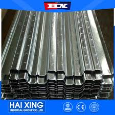 galvanized corrugated steel roofing decking sheet galvanized metal floor decking sheet popular steel floor panel