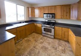 Types Of Floors For Kitchens Types Of Kitchen Flooring Stone Flooring This Kitchen Shows How