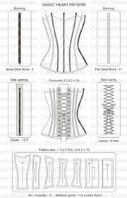 Corset Pattern Free Best 48 Best DIY Lingerie Images On Pinterest Sewing Patterns Sewing