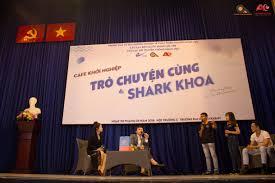 Image result for trò chuyện cùng shark khoa