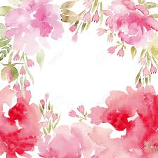 Spring Photo Cards Watercolor Flowers Peonies Handmade Greeting Cards Spring Composition