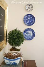 ... Inspiring Wall Decoration Using Various Hanging Wall Plates Decor :  Charming Image Of Accessories For Wall ...