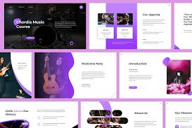 Music Powerpoint Template Chordia Music Powerpoint Template Vsual