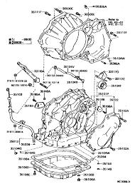 TOYOTA COROLLA LEVIN AE92-ACPVF, 3503 TRANSMISSION CASE & OIL PAN ...