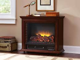 sheridan infrared electric fireplace heater in cherry glf 5002 68