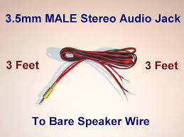 does anyone know how to make a bare speaker wire that terminates 57 jpg