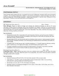 Retail Manager Cv Template Resume Examples Job Description Retail