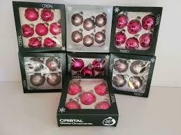 Weihnachtspaket Pinksilber Christbaumschmuck Weihnachtskugeln