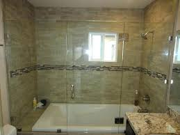 glass shower doors for bathtub large size of bathtub sliding shower doors glass mirrored frosted door