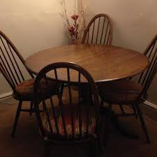 second hand table chairs