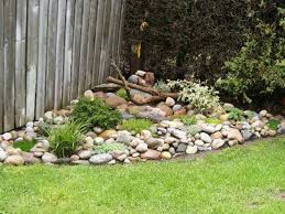 Decorative Rock Designs Rock Garden Design for Front Garden Garden border building for 98