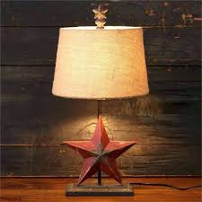primitive light fixtures primitive country lamp new primitive country rustic barn star lamp burlap shade electric