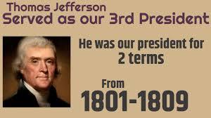 「1801 Thomas Jefferson for us president?」の画像検索結果