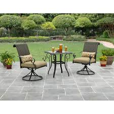 crossman piece outdoor bistro: better homes and gardens riverwood piece outdoor bistro set with outdoor bistro set
