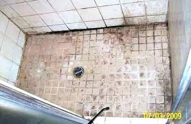 how to get rid of mold in shower grout clean black mold shower drain prevent mold