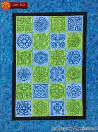 Free Quilt Patterns and Projects Designed by Leah Day | LeahDay.com & Heart Medallion Checkerboard Quilt Tutorial Adamdwight.com