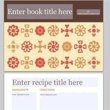 collection of free cookbook templates great layouts for recipe and recipes book template