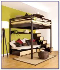 Elevated Bed Frame and also kids full size loft bed and also sturdy ...