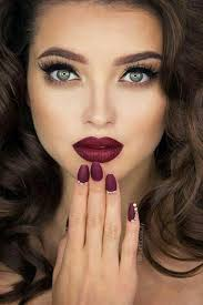 makeup beauty and nails image