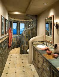 slate tiled shower faux slate tile shower bathroom southwestern with luxury transitional floor tiles slate tile