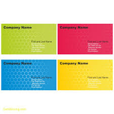 Free Sample Business Cards Templates Lovely Free Business Card Template Word Best Templates 12