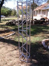 Pvc Lighting Truss Fake Aluminum Truss Made From Pvc Piping Church Stage