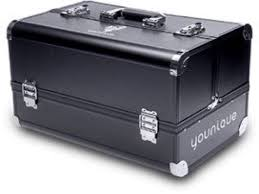 younique makeup trunk this is everything sell 10 flawless four collections of the april kudos this trunk is yours not a presenter i can help you with