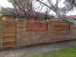 Small Picture fence on top rock wall MASONRY FENCE WALLS AND RETAINING WALLS