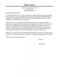 Best Teacher Cover Letter Examples Livecareer Examples Of Cover