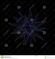 Star Framework Abstract Star 3d Framework Sphere From Lines Vector Outline Ill