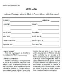 Commercial Office Space Lease Agreement Template – Stiropor Idea