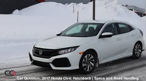 2017 Honda Civic Hatchback Turbo   Specs and test drive   The MOST ...