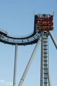griffon roller coaster first drop busch gardens williamsburg ride reviews and tips for visiting