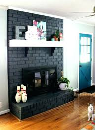 fireplace paint ideas painted fireplace makeover wooden