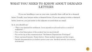 Demand Letter To Insurance Company For Personal Injury 20 Demand