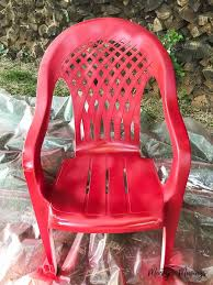 Best 25 Painting plastic chairs ideas on Pinterest