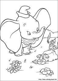 Dumbo Coloring Picture Voor Het Bejaarden Te Huis Disney