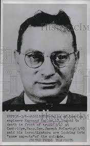 Voice of America Engineer Raymond Kaplan, 42 1953 Vintage Press Photo Print  - Historic Images