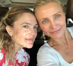 the best celebrity no makeup selfies ever glamour